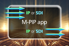 M-PIP IP/SDI picture-in-picture software app