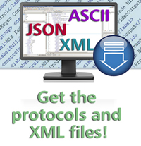 Download the protocols and XML files