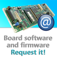 Request latest board software and firmware